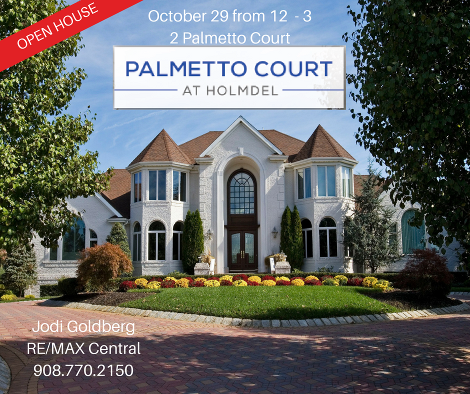 Open House 2 Palmetto Court Holmdel Nj House Styles Open House Custom Builders