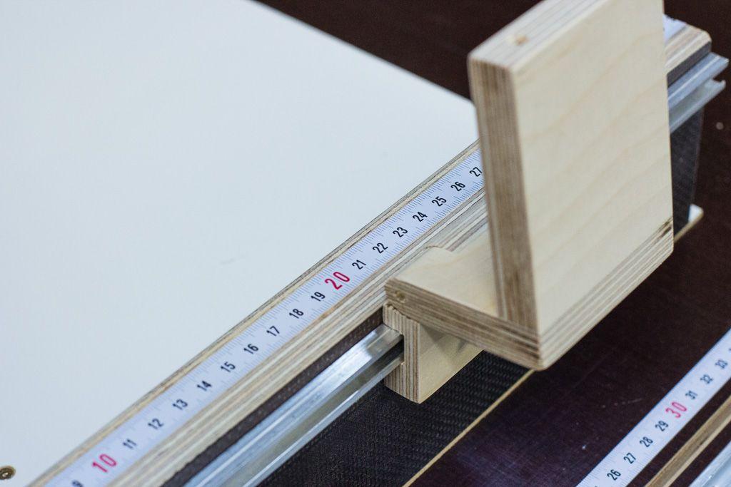 schiebeschlitten f r die tischkreiss ge shop tips. Black Bedroom Furniture Sets. Home Design Ideas