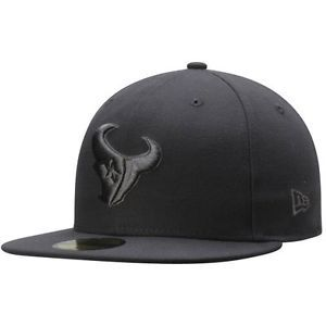 Mens-New-Era-Houston-Texans-NFL-Graphite-League-Basic-59FIFTY-Fitted ... 6be4e6964