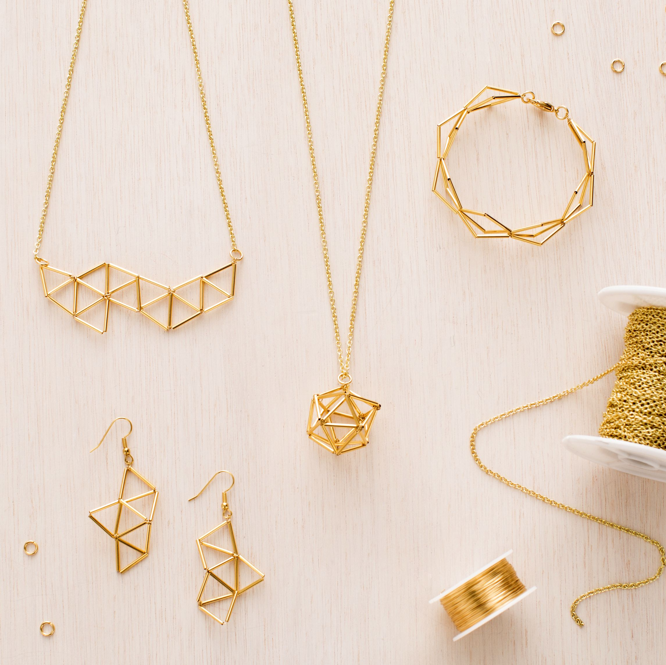 Geometric Jewelry Kit | DIY | Pinterest | Schmuck basteln ...