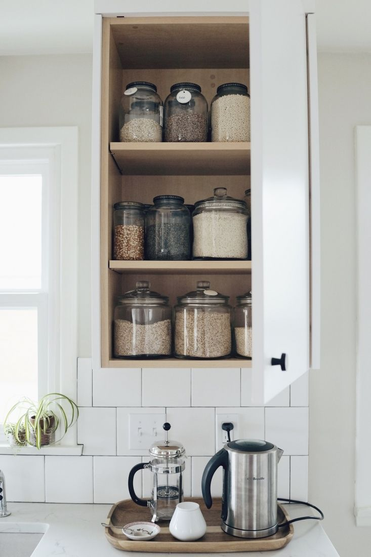 Beautiful Kitchen Cabinet Shelf Spacing