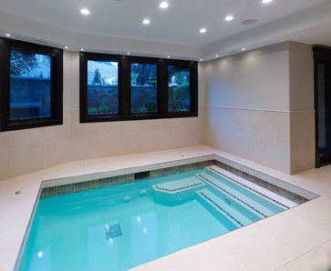 Awesome Indoor Basement Swimming Pools