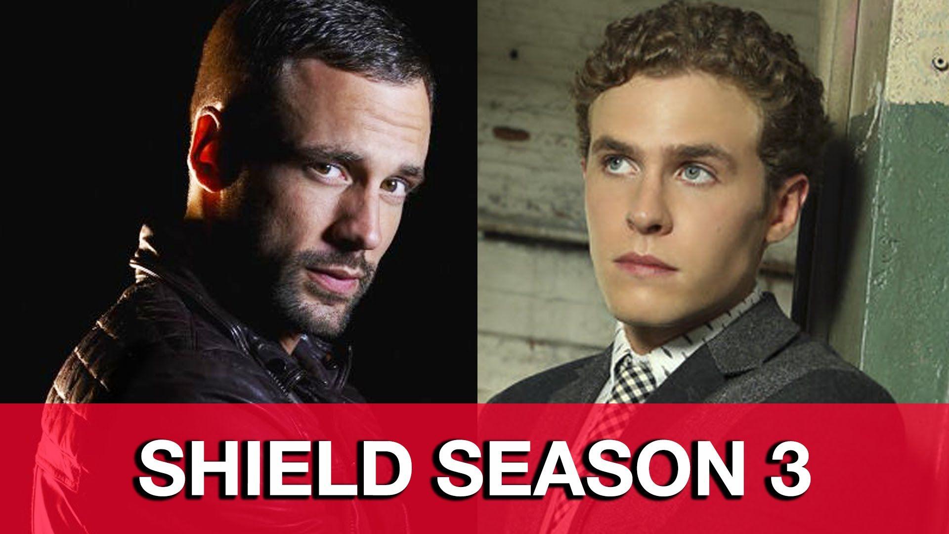 Agents of SHIELD Season 3 Interview - Iain De Caestecker & Nick Blood