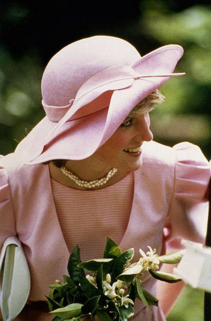 Diana in Pink......lovely!!