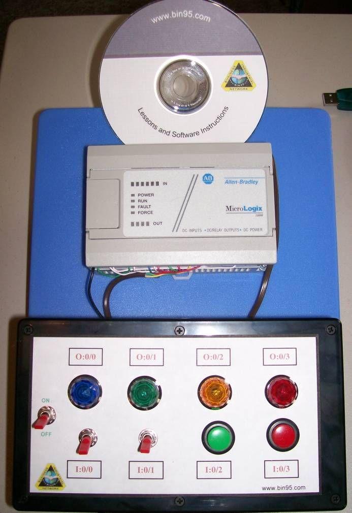 Training Equipment: Micrologixs PLC equipment - Allen Bradley PLC