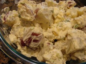 A Bear in the Kitchen: Red Potato Salad