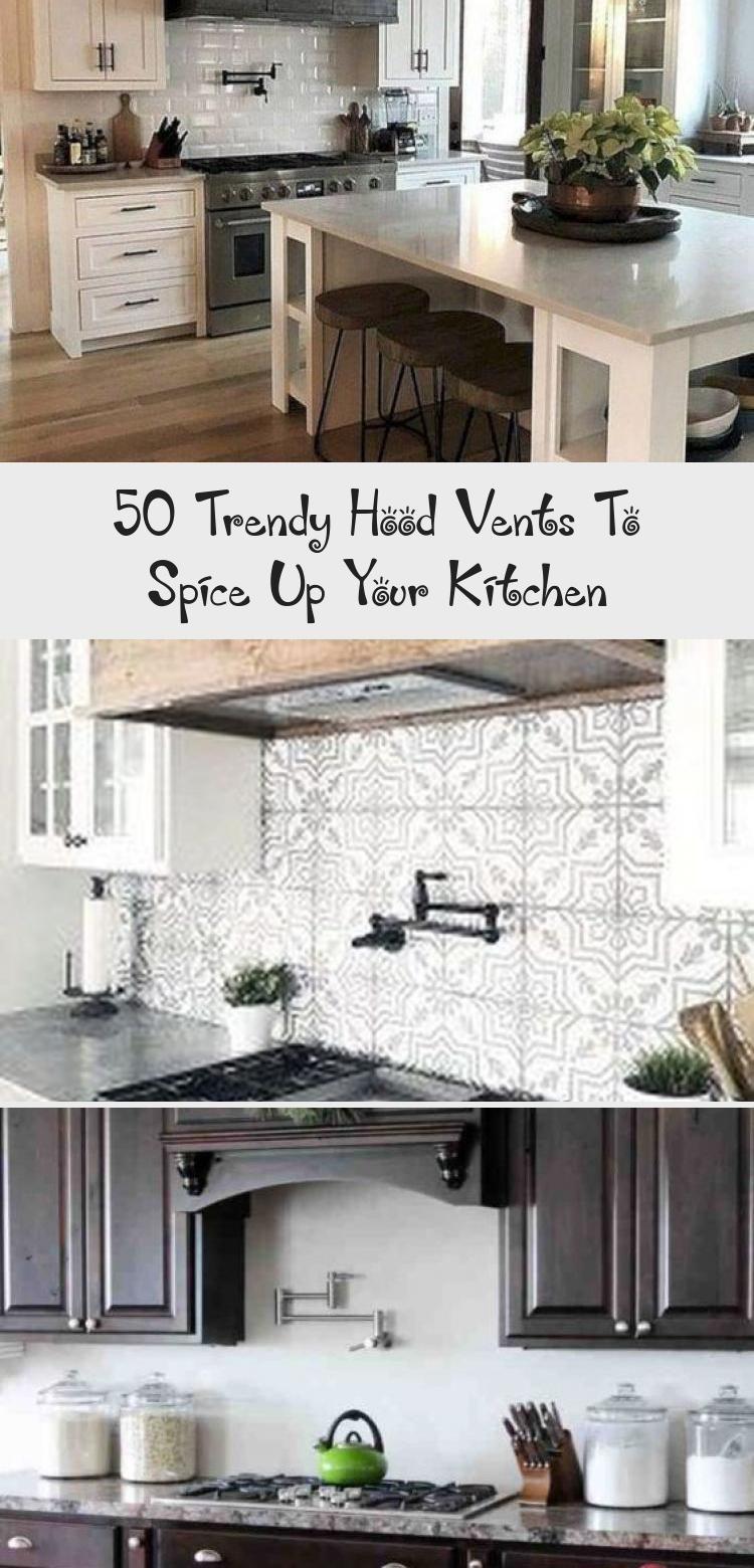 50 Trendy Hood Vents To Spice Up Your Kitchen Kitchen Kitchen Tiles Kitchen Marble