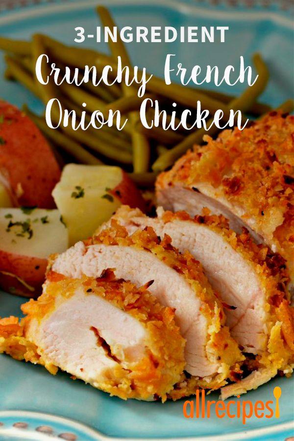 Crunchy French Onion Chicken