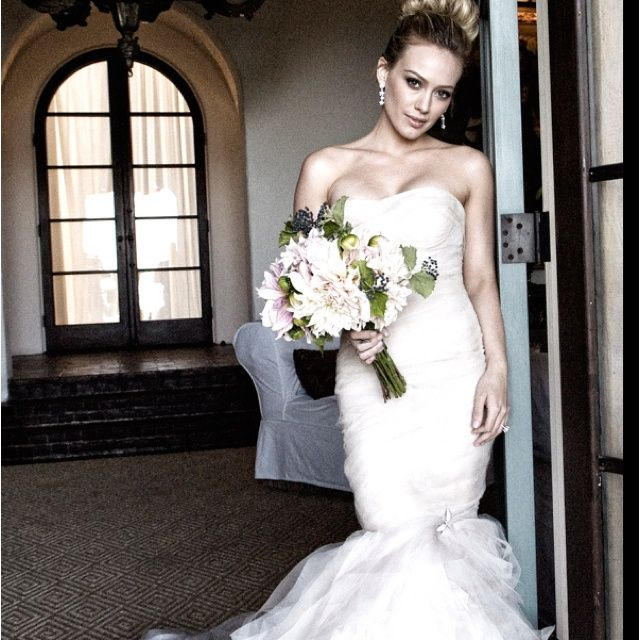 The Good Look of Hilary Duff Wedding Dress - Picture BoxsPicture ...
