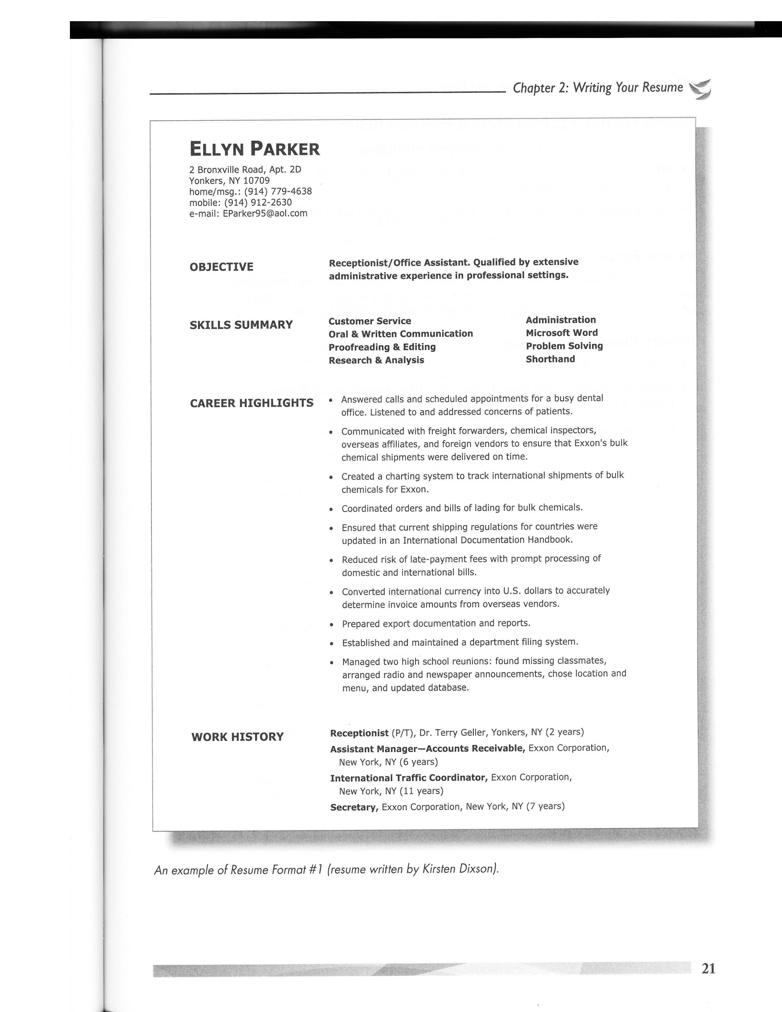 Download Resume Format Amp Write The Best Resume Within Good Resume ...