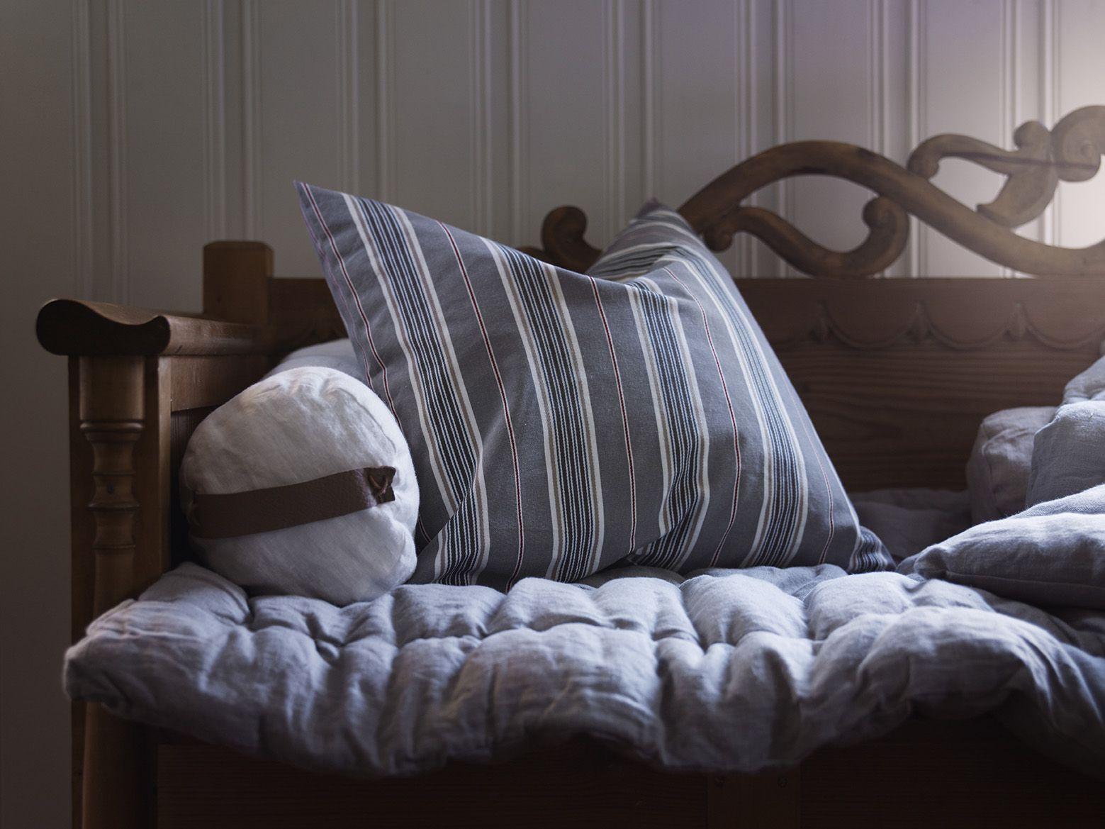 Decoratie Slaapkamer Ikea : Daggvide kussenovertrek grijs veelkleurig strepen ikea en