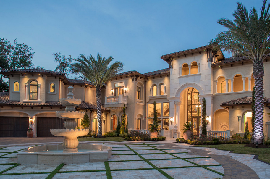 Patrick berrios designs they specialize in mediterranean for Luxury mansion designs