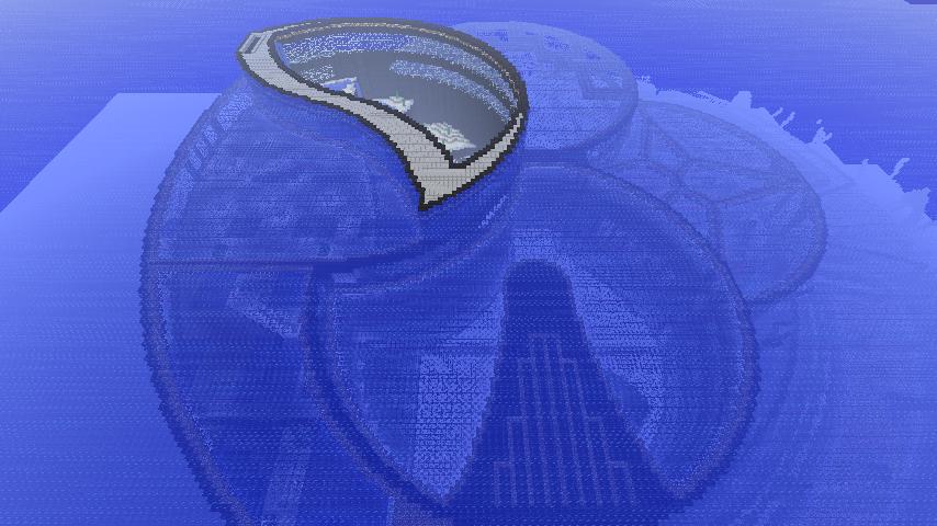 Minecraft Underwater City By Ludolik On Deviantart Such An