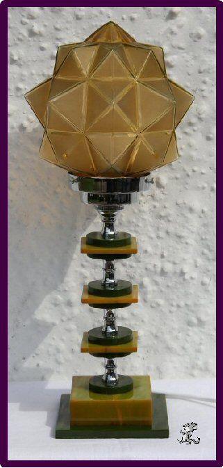 Art Deco Bakelite Lamp 1930 s Art Deco Art Nouveau