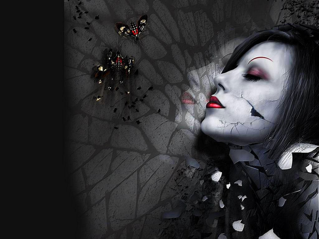 12 best wallpaper images on pinterest | dark side, creepy horror