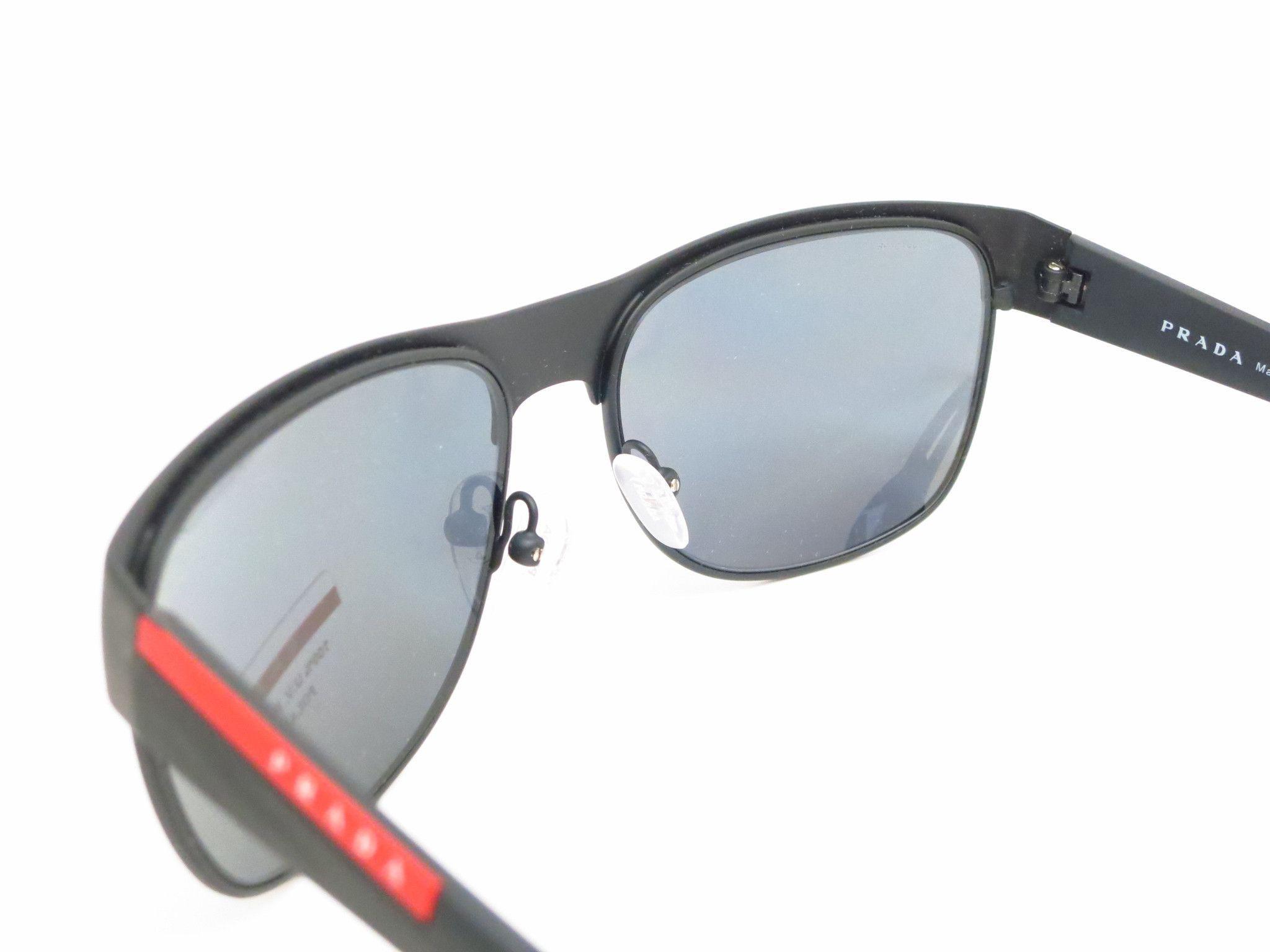 c970496d0d5f ... new arrivals prada sport sps 57q tfz 1a0 grey rubber sunglasses 6e8a1  fdeb8