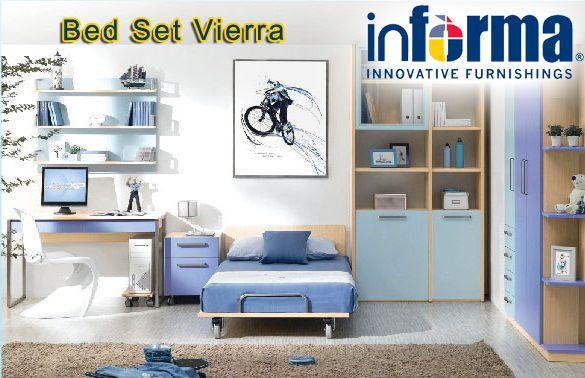 Vierra bed set | informa.co.id | Informa Bedrooms | Pinterest | Bed ...