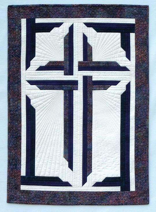 Image Result For Free Christian Quilt Patterns Cross And Religious