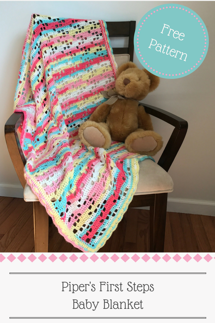 Free Crochet Pattern and Photo Tutorial by StitchMeIn | blanket ...
