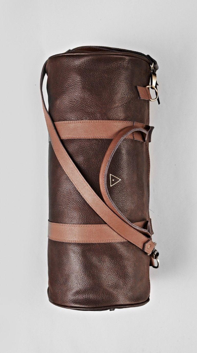 Brown Duffle Bag   + SPARKLE +   Pinterest   Bags, Leather duffle ... deb55362de