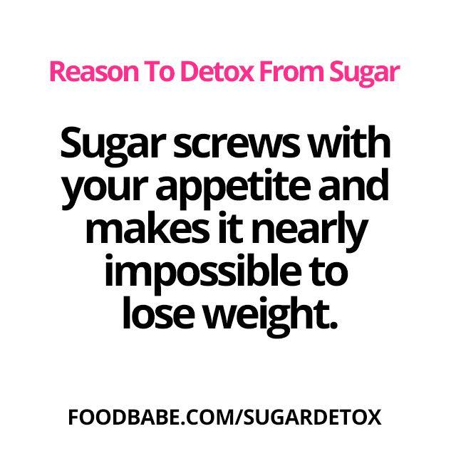 Do you need a Sugar Detox? Sugar makes you gain weight by
