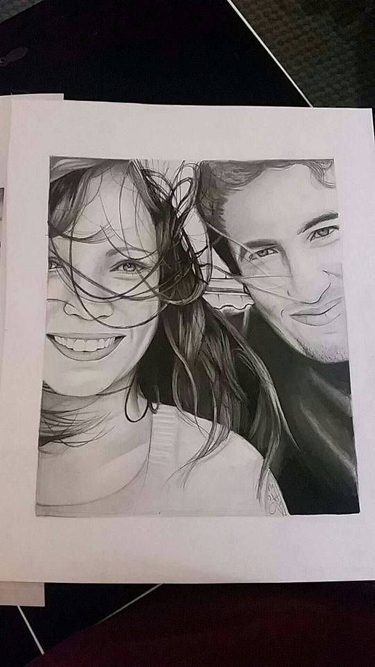 CUSTOM PORTRAITS Black and White or Color