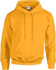 Orange Gildan Plain Hooded Heavy Blend Sweatshirt Pullover mens hoodie