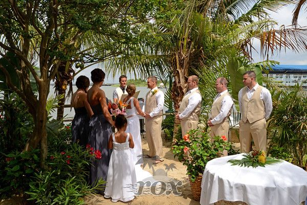 Wedding Ceremony At Fager's Island With Ocean City