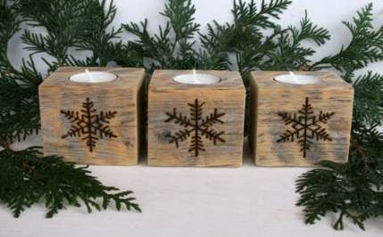 45+ Trendy winter wood crafts diy candle holders #weihnachtenholz