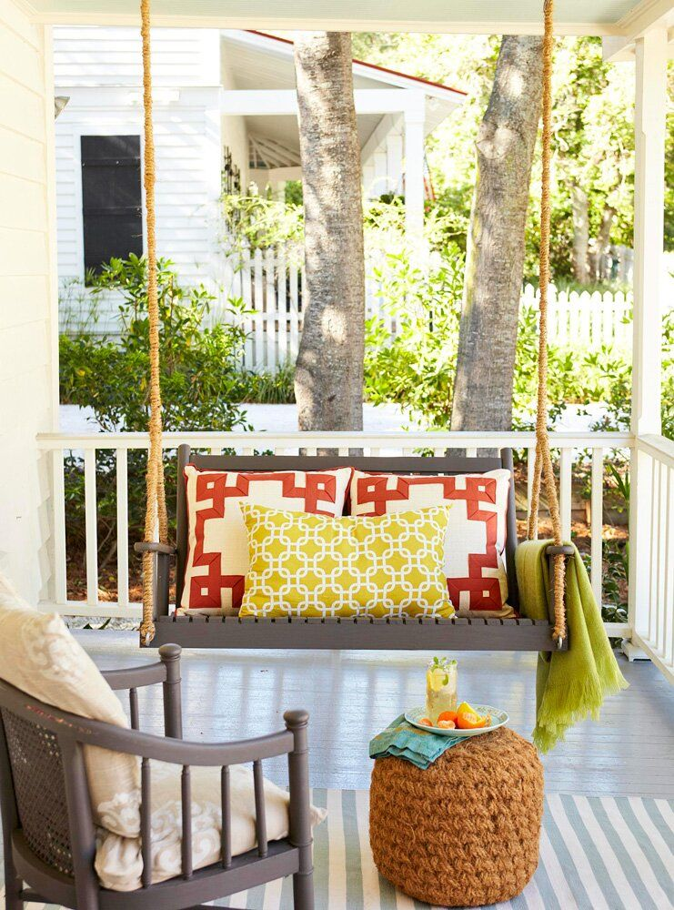 40 ideas for warm and welcoming porches in 2020 porch on porch swing ideas inspiration id=50006