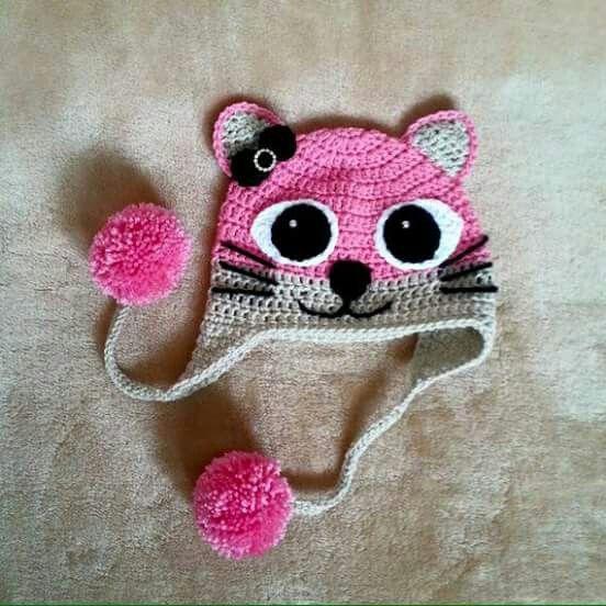 Pin von Bonnie Mallette auf Baby   Pinterest   Mütze, Gehäkelte ...