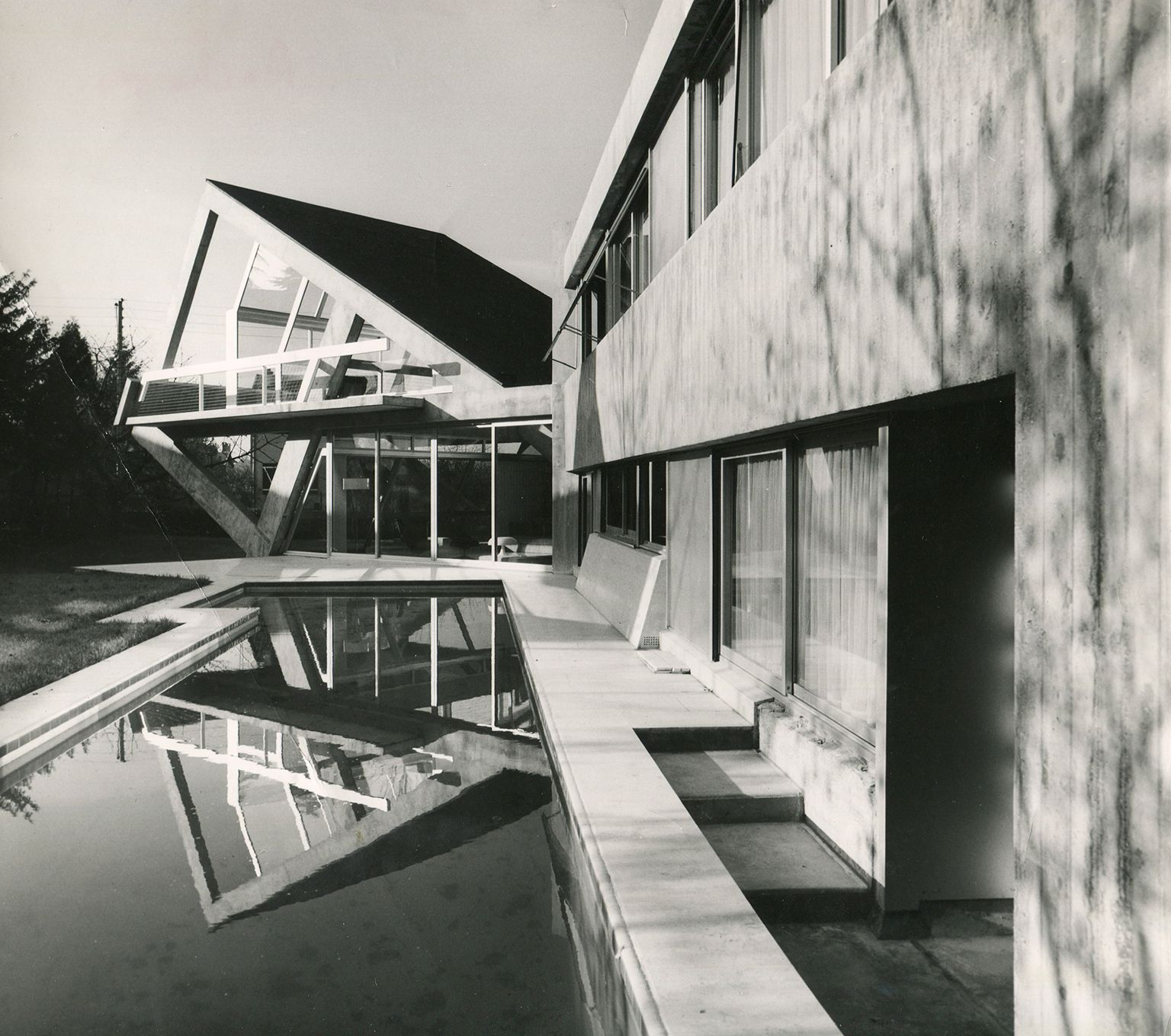 Maison Drusch, Versailles By Claude Parent (1963 1965)