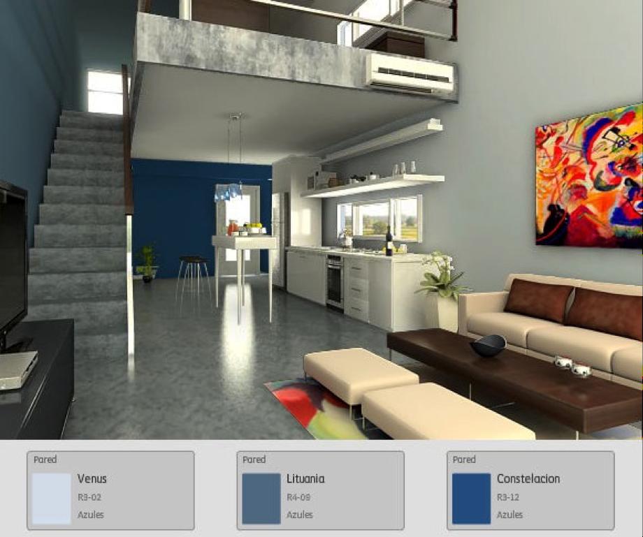 Déjate llevar por el azul. #tips #hogar #azul #comex #interiores ...