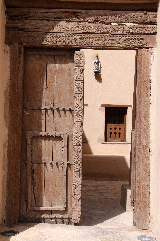 Traditional door & Traditional door | Sinbad\u0027s Oman Pocket Guide | Pinterest ...