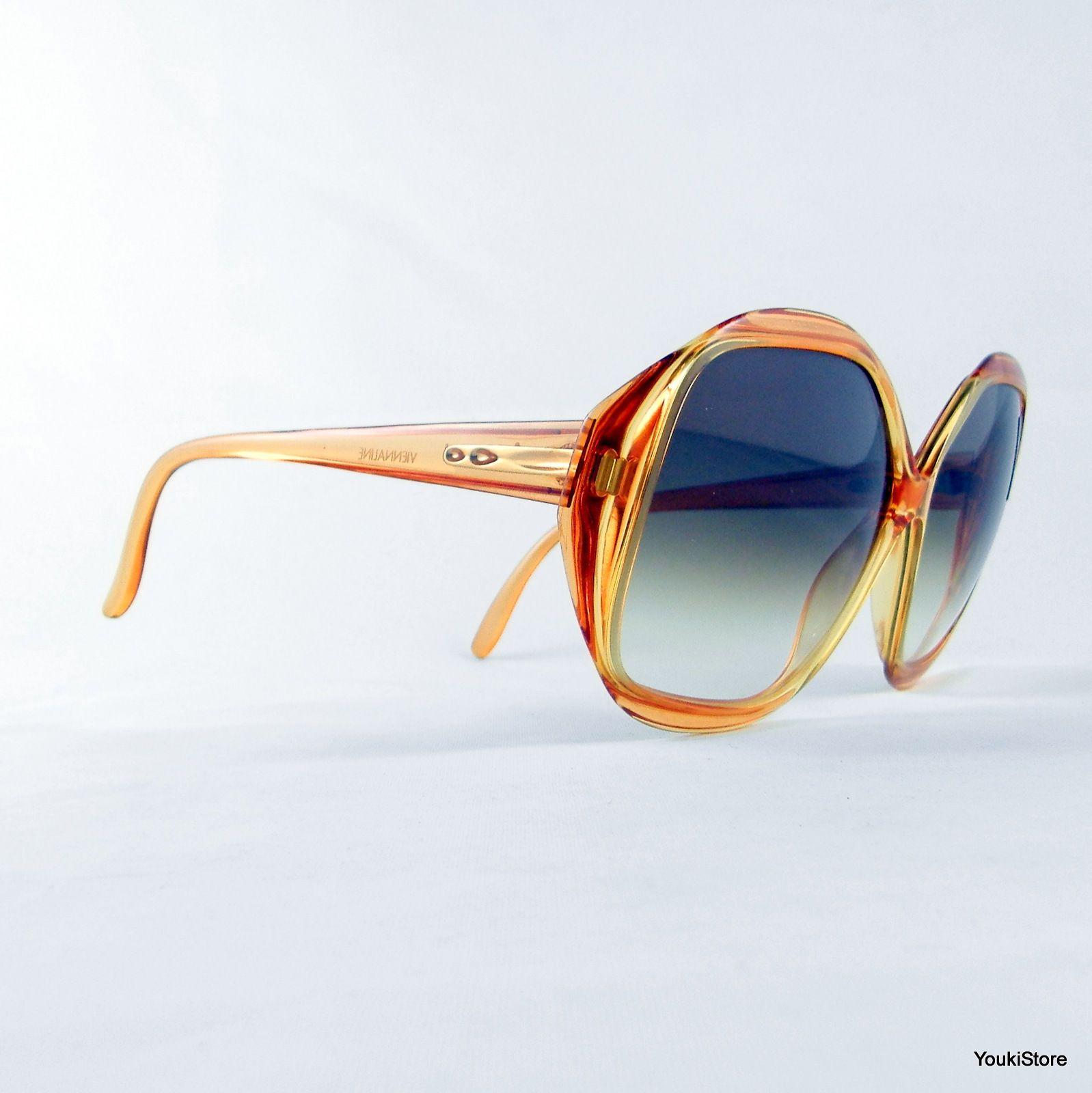 Viennaline Optyl Occhiali Da Sole 3524 40 60 20 135 Vintage Sunglasses New