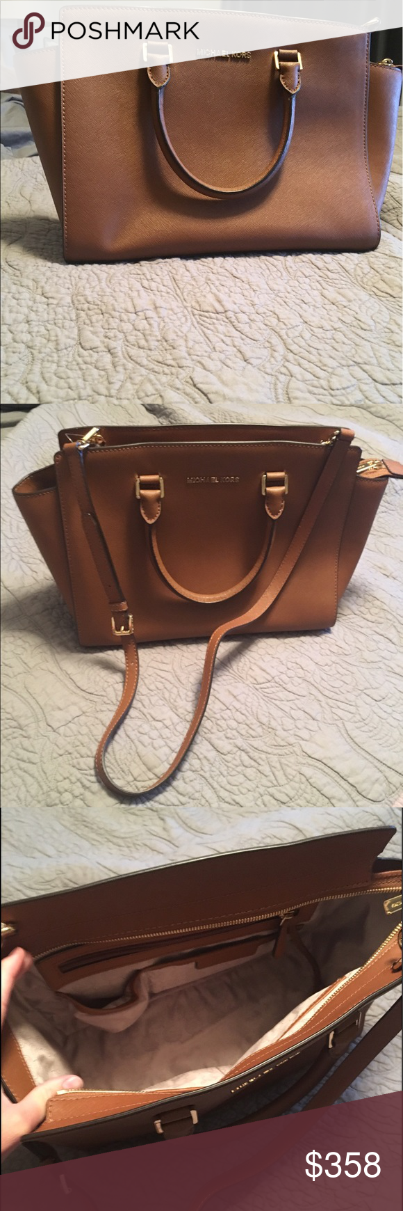 245add6ce2 Michael Kors Purse Brand new, never been used MK purse! Comes with dust bag!  KORS Michael Kors Bags Shoulder Bags