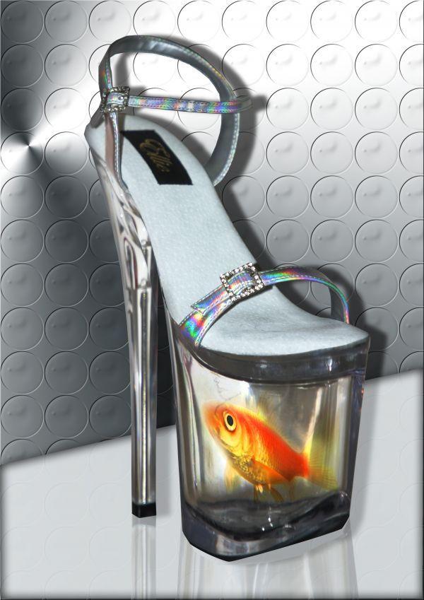 crazy high heel shoes for sale | AQUARIUM HEEL picture for: crazy heels photoshop contest - Pxleyes.com