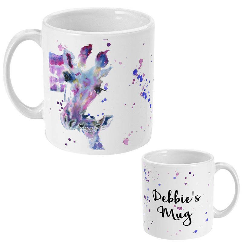 Giraffe Gift Giraffe Mum Personalised Gift Custom Mug