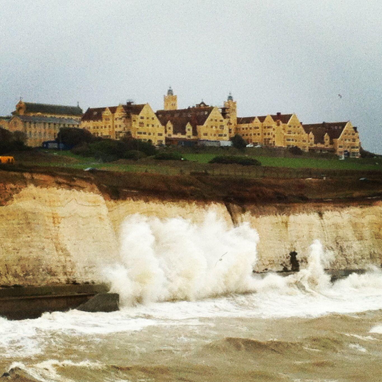 Storm Surge At Roedean Brighton