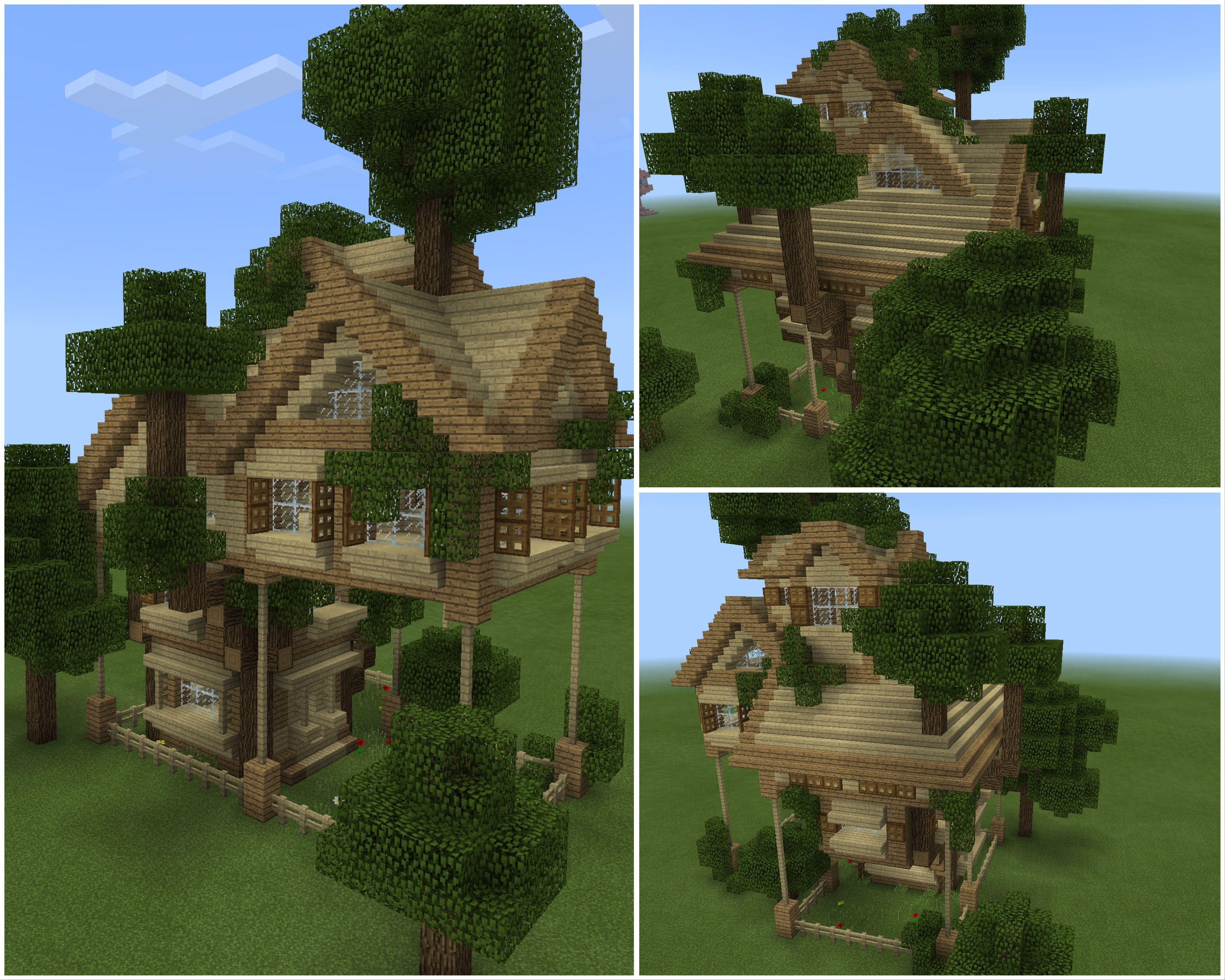 Minecraft Forest House