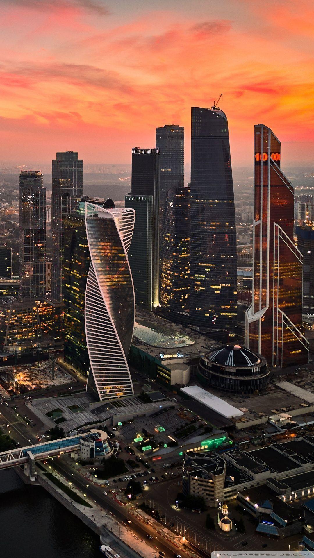 10 Mega City Background Hd Wallpaper Paisajeurbano Con Imagenes