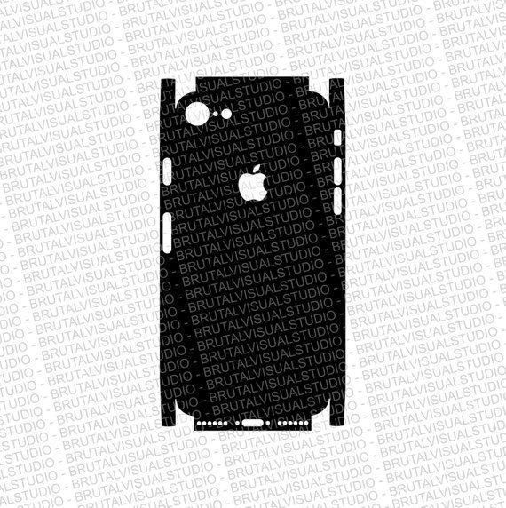 iphone 8 - skin cut template