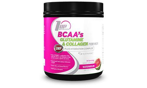 Her BCAA's, Glutamine & Collagen Plus Hydration Complex | 1 Up Nutrition