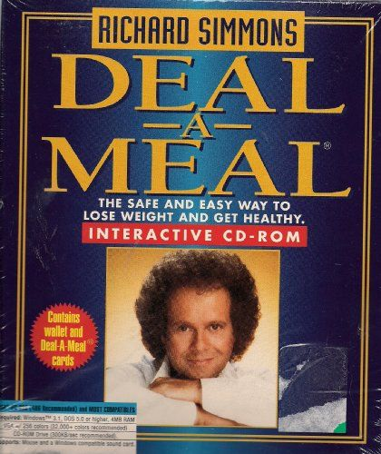 Richard Simmons Deal A Meal Program Interactive Cdrom For More