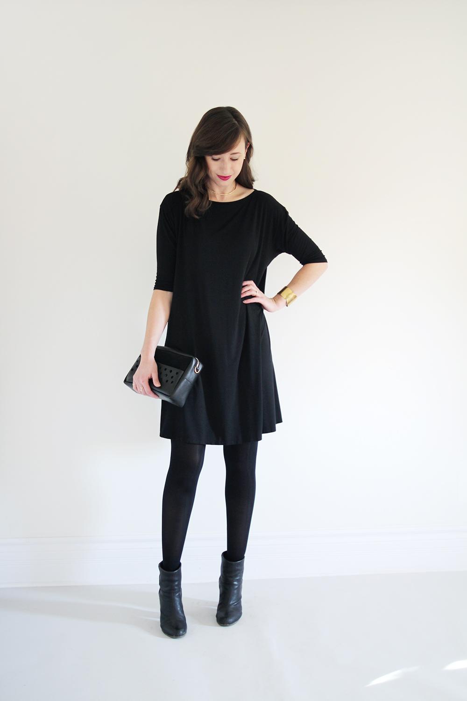 FALL 10 X 10 – LOOK 8 -   17 dress Winter leggings ideas