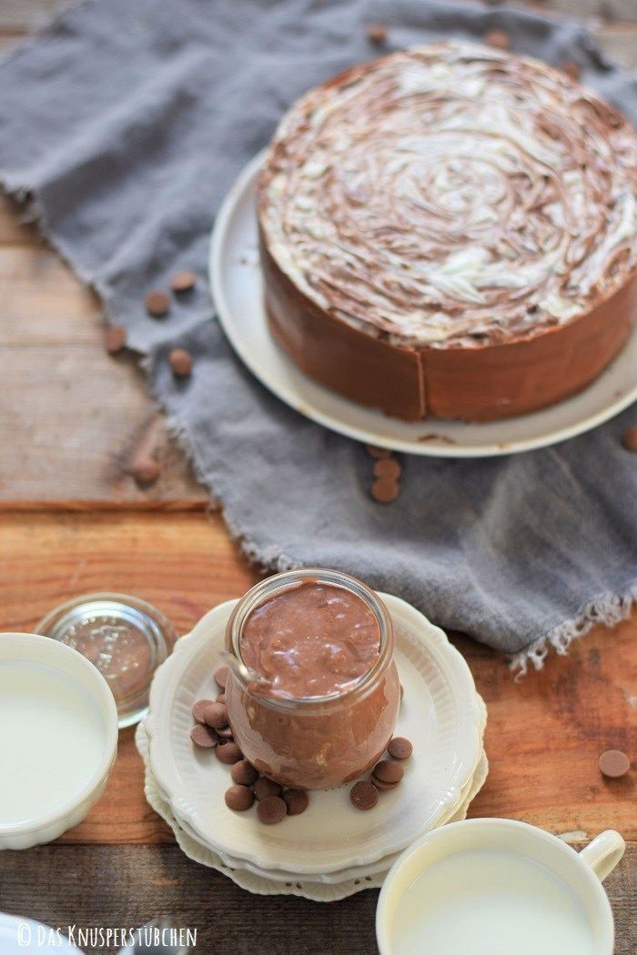 Schoko Creme Torte Black and White 9