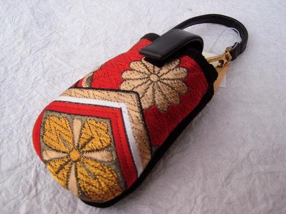 .        一点物 & 一点柄  ✪ 和流ポーチ (名称/スティックラフィン) ✪        ~ 高 級 織 物 ~↓✪ 商品説明    ...|ハンドメイド、手作り、手仕事品の通販・販売・購入ならCreema。