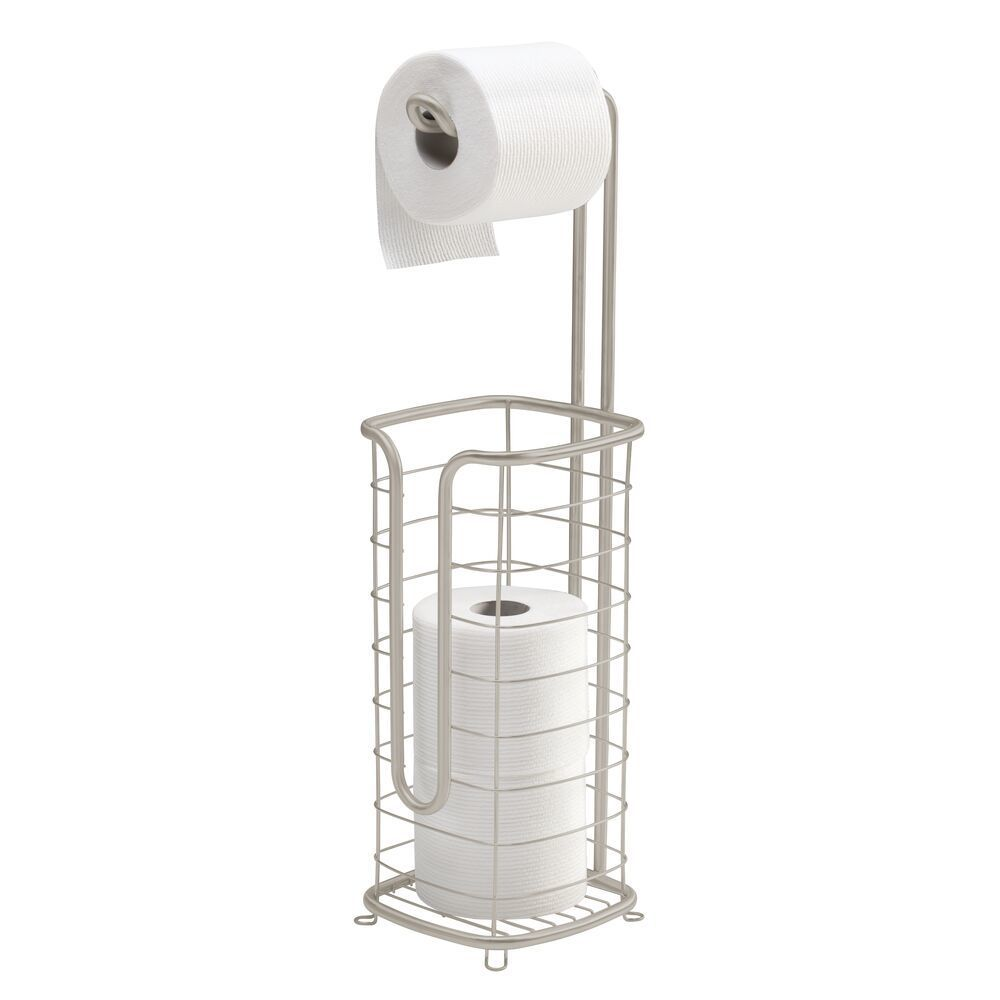 Metal Wire Toilet Tissue Paper Roll Holder Dispenser In 2020