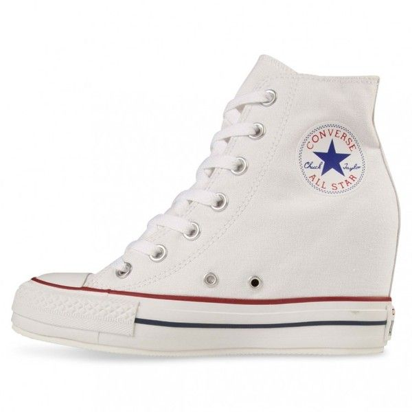 converse platform plus white 50 liked on polyvore