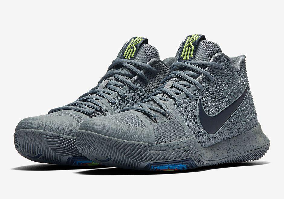 Nike Kyrie 3 Midnight Grey 852395-001